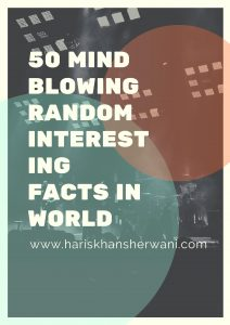 Poster of 50 Mind Blowing Random Interesting Facts in World