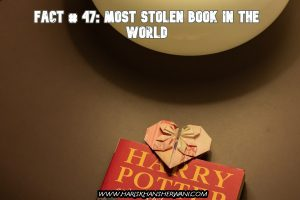 Fact # 47: Most Stolen Book In the World