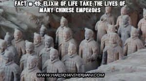 Fact # 49: Elixir of Life Take the Lives of Many chinese emperors