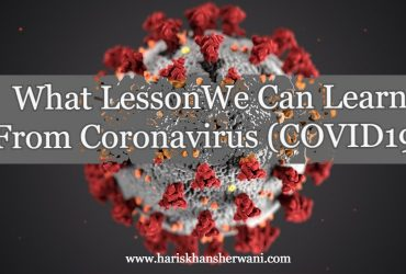 What Lesson We Can Learn From Coronavirus